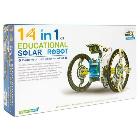 14-in-1 Educational Solar Robot