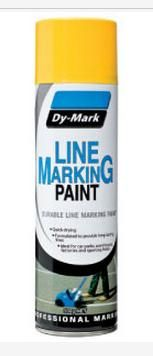 Line markers paint yellow 500g Can