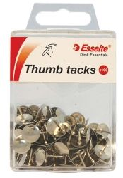 Drawing pins silver colour 11mm