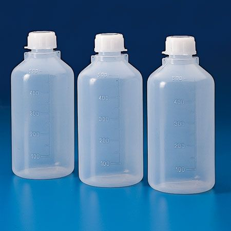 Bottle storage 500ml LDPE screw cap NM
