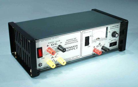 P/Supply for Mass of Electron 12V/300V