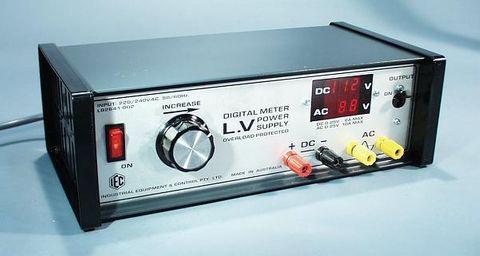 P/Supply 0-25V AC/DC 10A/6A digital