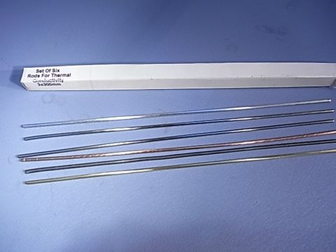 Conductivity rods 300 x 3mm