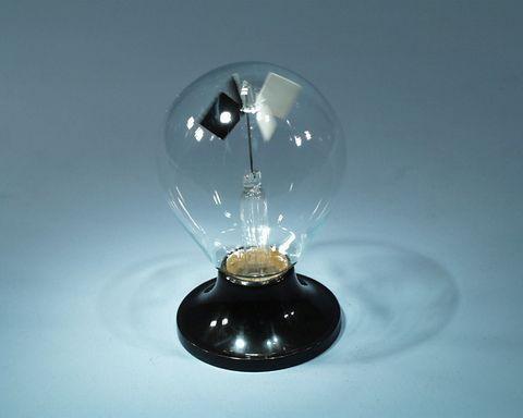 Radiometer Crooke's single glass stand