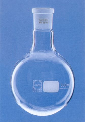 Flask R/B 25ml 19/26
