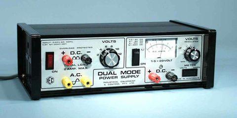 P/Supply 'Dual Mode' 2-12V & 0-20V DC