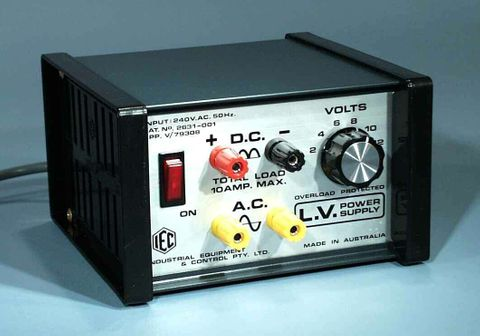 Power supply GP 2-12V AC/DC 10A