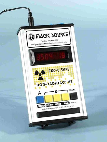 Radioactive source simulator 'MAGIC'