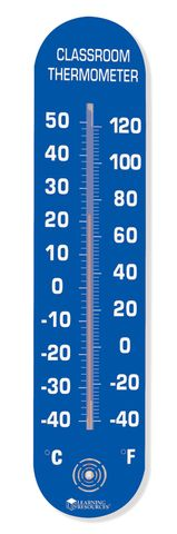 Classroom thermometer large