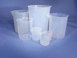 Beaker 1000ml P/P Low Form