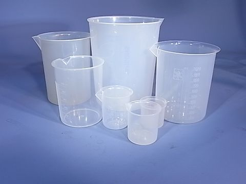 Beaker 500ml P/P Low Form