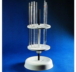 Pipette holder for up to 28 pipettes