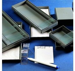 Microscope slide box 50 place PS