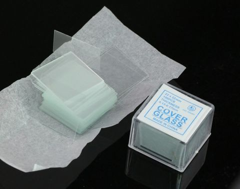 Glass cover slips No.1 22x22mm square