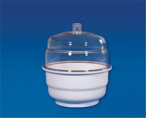 Desiccator plastic plain 150mm diam