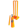 Plastic Cricket Set- Stumps, Bat, Ball