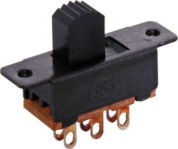 Switches mini slide DPDT