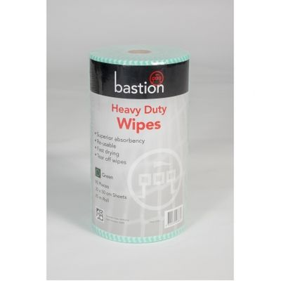 Wipes heavy duty 45m 30x50cm Green 90s