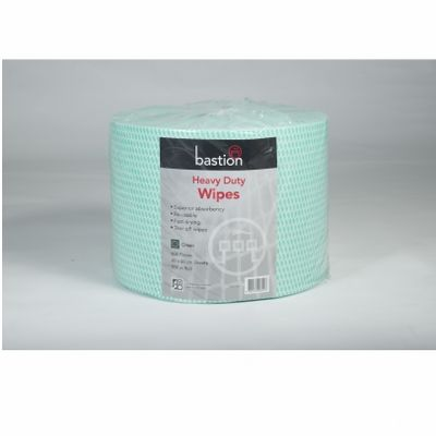 Wipes heavy duty 300m 30x50cm Green