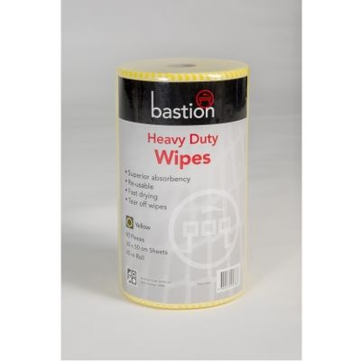 Wipes heavy duty 45m 30x50cm Yellow 90s