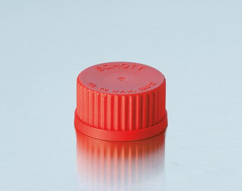 Screw cap PBT Red GL18