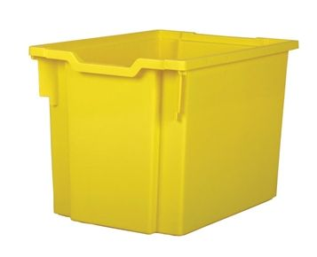 Tray storage jumbo Yellow 300mm