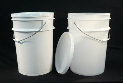 Pail only 20 litre White GP