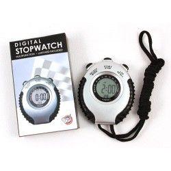 Stopwatch digital with lanyard 0.01sec