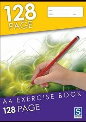 Exercise notebooks Soverign A4 128 pages