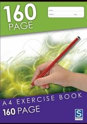Exercise notebooks Soverign A4 160 pages