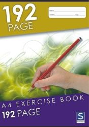 Exercise notebooks Soverign A4 192 pages