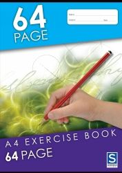 Exercise notebooks Soverign A4 64 pages