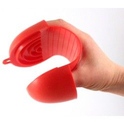 Hand protector silicon rubber red