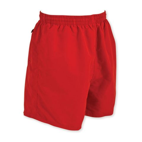 Zoggs Penrith Shorts -Hot Red