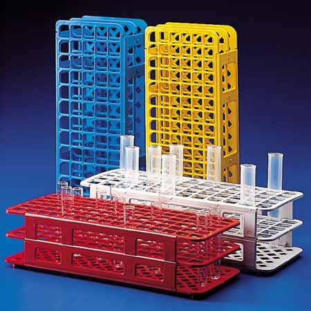 Test tube rack PP 24x30mm Blue