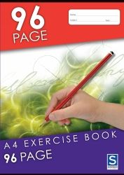 Exercise notebooks Sovereign A4 96p