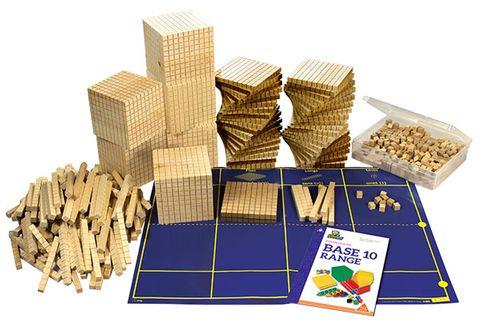 MAB wood class set
