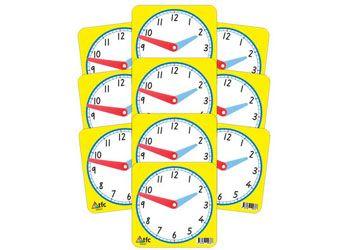Clock face small 12 hour 11x11cm bulk pk