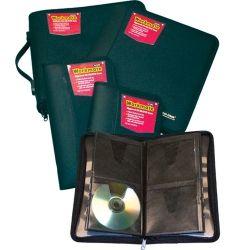 CD/DVD Album Colby workmate w/zip cap24