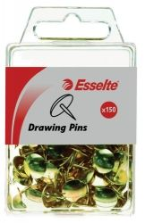 Drawing pins brass 11mm dia 7mm length