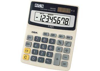 Large display calculator