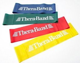 Thera Bands Heavy Green  8''