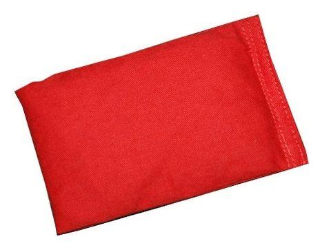 Bean Bag cotton 150x100mm Red