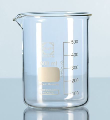 Beaker low form glass 100ml Schott