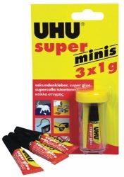 Glue UHU super glue 3x1ml