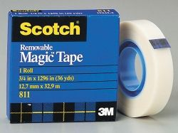 "Scotch ""Magic"" tape 12.7mm x 33m roll"