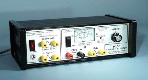 Power supply High Voltage 0-500V DC/50mA