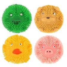 Fluffy farm puffer ball 6cm