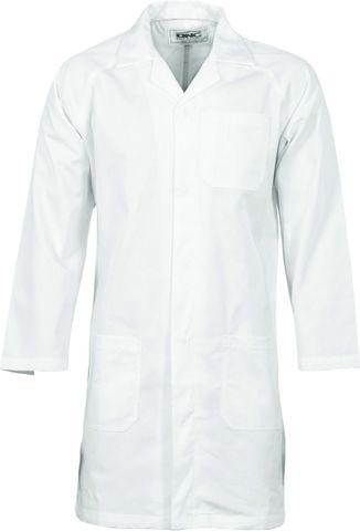 Umpires Coat - White Medium