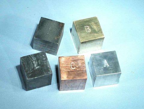 Cube Iron 2cm edge  [WSL]